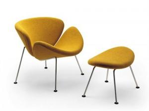 Moderne meubels bekleden