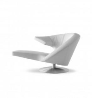 Leolux Parabolica stoel bekleden