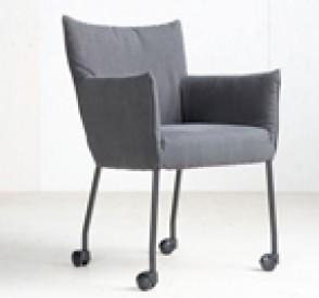 Label stoel Mali bekleden