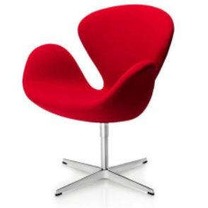Fritz Hansen Chair Lounge Swan nieuw stofferen
